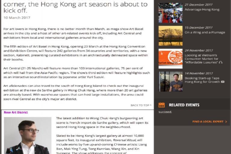 Xin Yunpeng Bio - de Sarthe Gallery