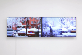 Xin Yunpeng, 20130329, 2013, Dual channel video, 00'27