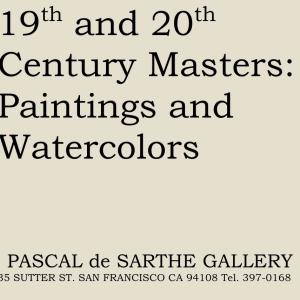 19th and 20th Century Masters: Paintings and Watercolours