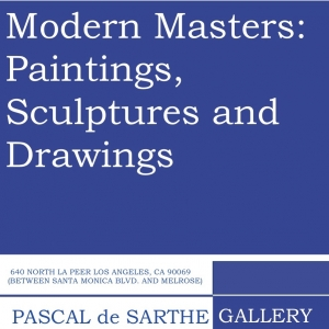 Modern Masters: Paintings, Sculptures and Drawings
