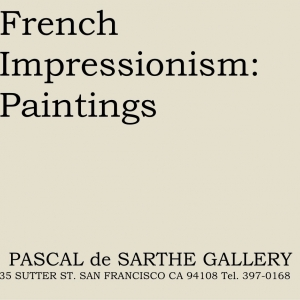 French Impressionism: Paintings