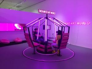 王欣最新装置艺术《Enchanted Art World》在上海宝龙美术馆