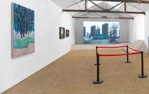 辛雲鵬的作品於北京拾萬空間 《不作意義》展出