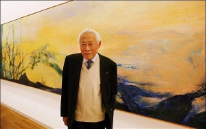Zao Wou-ki Paintings: 1950s-1960s in de Sarthe Gallery
