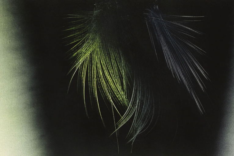 Hans Hartung, T1966-H32, 1966, Vinyl paint on canvas, 111 x 180 cm