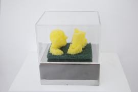 Zhou Wendou, Sponge Pop – Reading, 2006, Éponge, 9 x 6 x 4.5 cm
