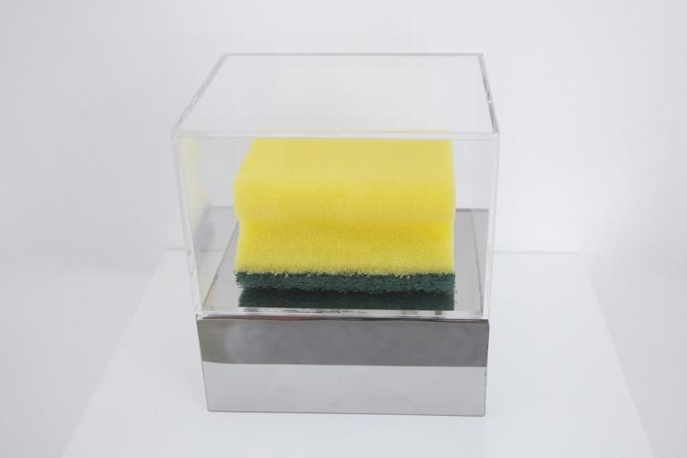 Zhou Wendou, Sponge Pop - Sponge, 2006, Sponge, 9 x 6 x 4.5 cm