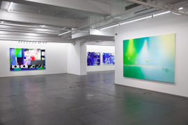 Installation view of Contemporary Show Off