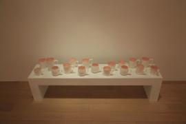 Lin Jingjing, Lies, 2012, 18 cups