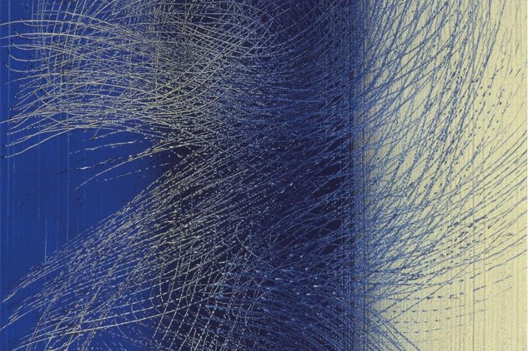 漢斯·哈同, T1965 - H31, 1965, 布本丙烯, 130 x 81 厘米