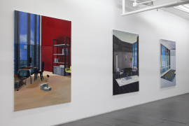 Installation view of Home Sweet Home