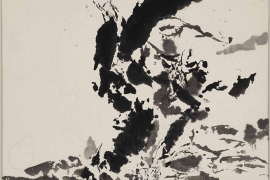 Zao Wou-Ki, Untitled, 1999, Ink on paper, 59 x 59 cm