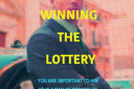Lin Jingjing, Better Than Winning the Lottery, 2019, Archival pigment print on canvas, 160 x 100 cm