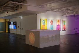 Installation view of Lov-Lov Shop