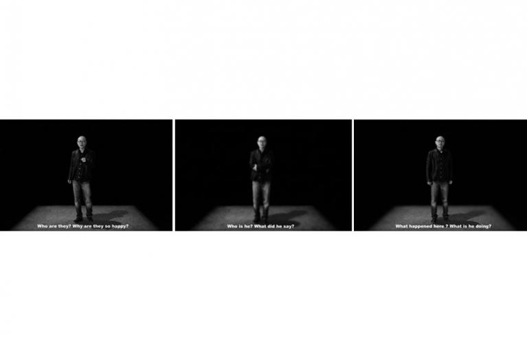 王國鋒, 在我和真相之間, 2013. 視頻, 8 分鐘