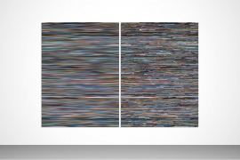 Wang Guofeng, Memory, No. 1, 2013, Giclee print mounted on Diasec, diptych, Edition 1 of 5 Number 1/5 from an edition of 5 plus 1 artist's proof, 199 x 298 cm