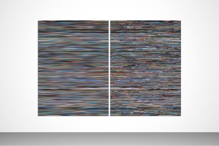 王国锋, 记忆, 1号, 2013, Diasec装裱数字墨喷, 199 x 298 厘米
