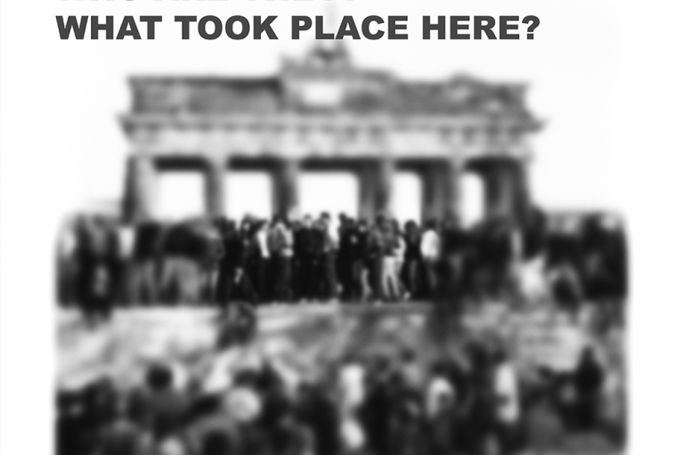 王國鋒, 他們是誰? 這裡發生了什麼事?, 2005. 照片打印在Canson紙上 (蝕刻布) 310 gsm, 140 x 156 厘米