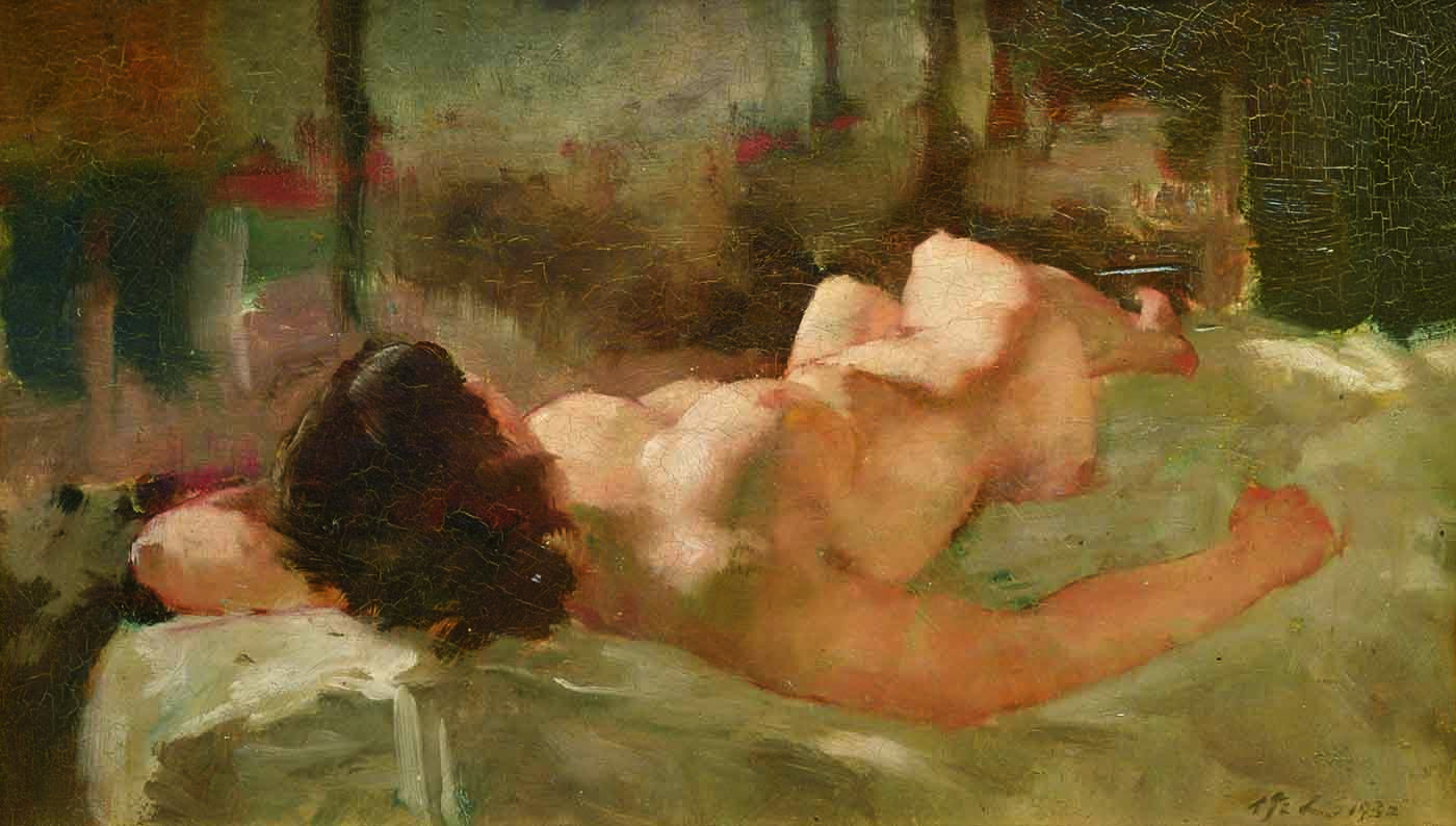 Recommend nude painting chinese art