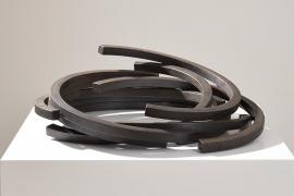 Bernar Venet, 217.5 ARC x 9, 2008, Rolled Steel, 17 x 50 x 49 cm