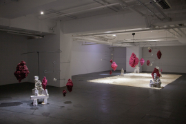 Installation view of Shifting Landscapes