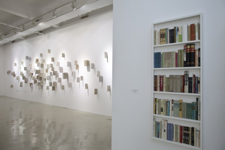 Zhou Wendou, 100 Books One Must Read in a Lifetime, No. 2, 2013, 140 secondhand books, Variable