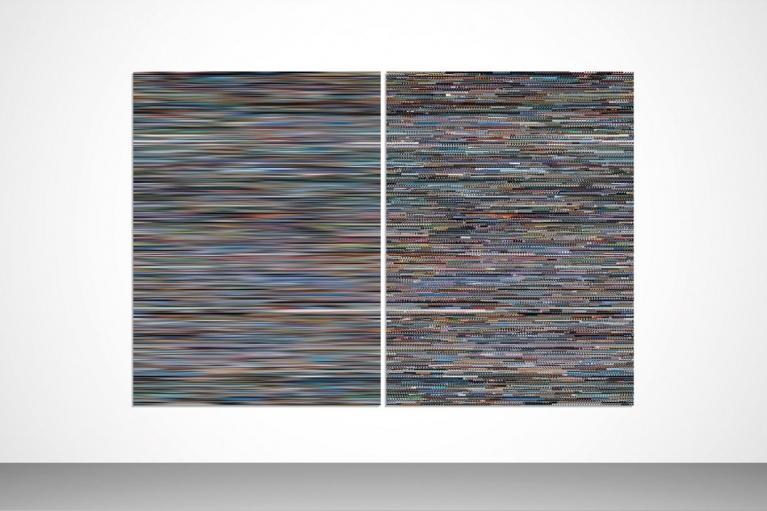王国峰, Memory No.1, 2013, Giclee 打印, 199 x 296 厘米