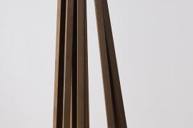 Bernar Venet, 12 Straight Lines, 2009, Steel, 103 x 41.5 x 41.5 cm