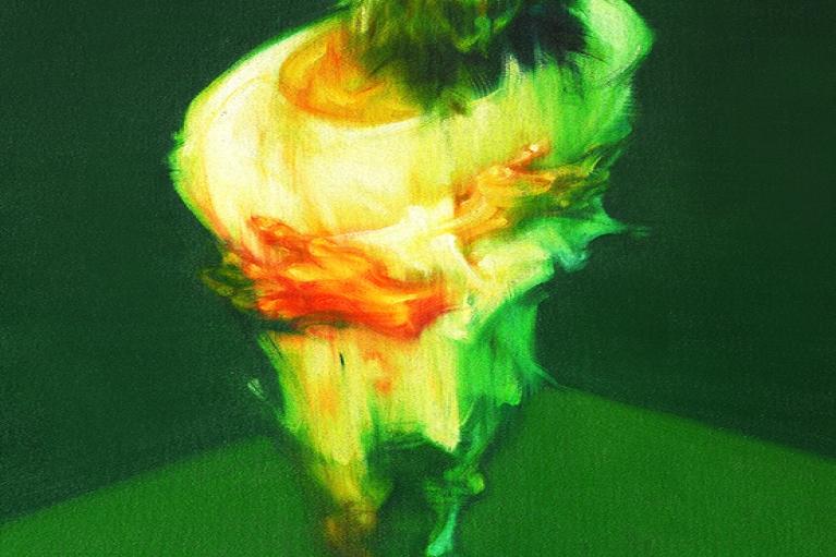 吳建軍,身體的圖像,我自己,2006,布面油畫,130 x 80 厘米