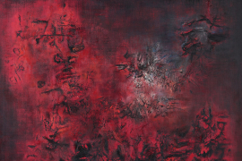 Zao Wou-Ki, Untitled, 1958, Oil on canvas, 114 x 146 cm