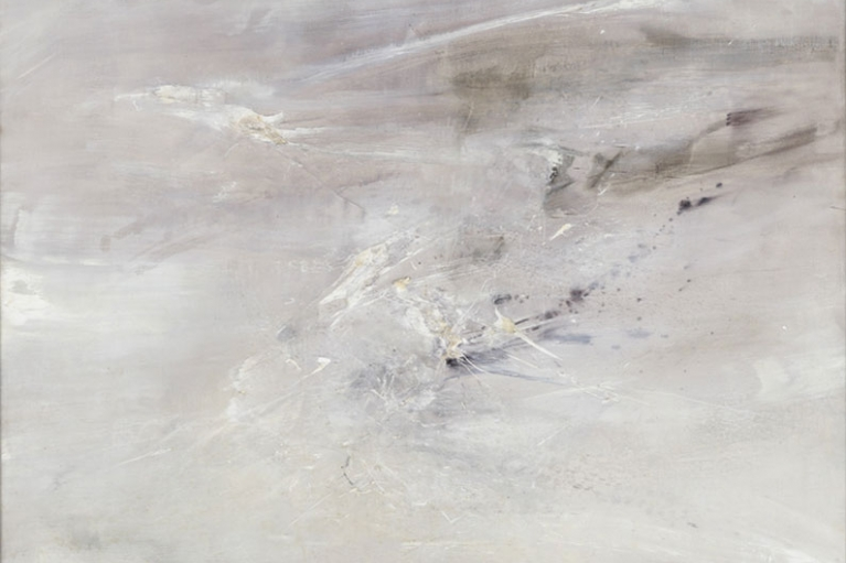 Zao Wou-Ki, 02.03.64 Homage to René Char, 1964, Oil on canvas, 135 x 145 cm