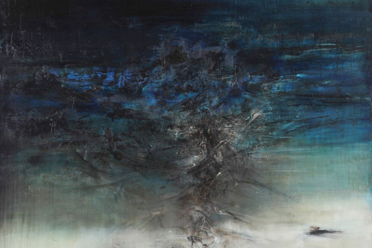 Zao Wou-Ki, 04.11.61, 1961, Oil on canvas, 150 x 162 cm