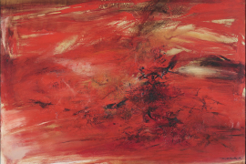 Zao Wou-Ki, 21.10.63, 1963, Oil on canvas, 200 x 180 cm