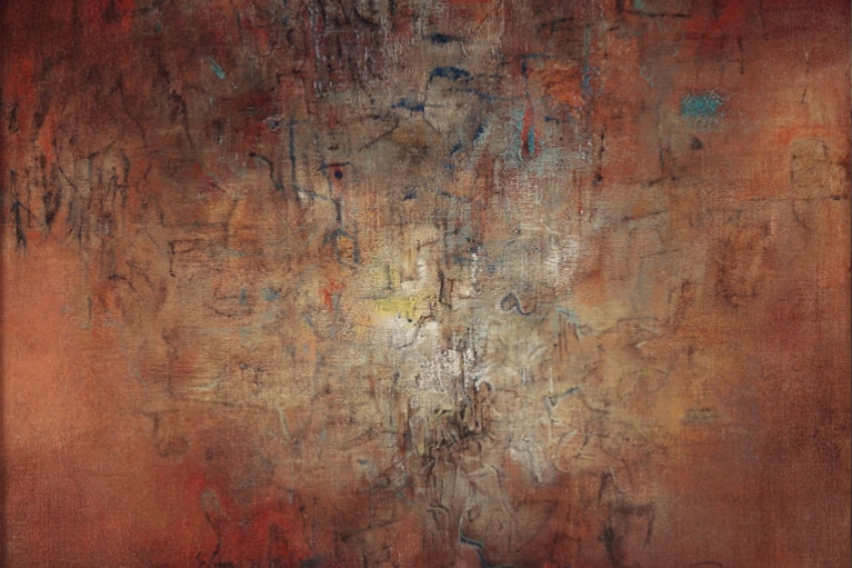 Zao Wou-Ki, Untitled, 1958, Oil on canvas, 62 x 66 cm