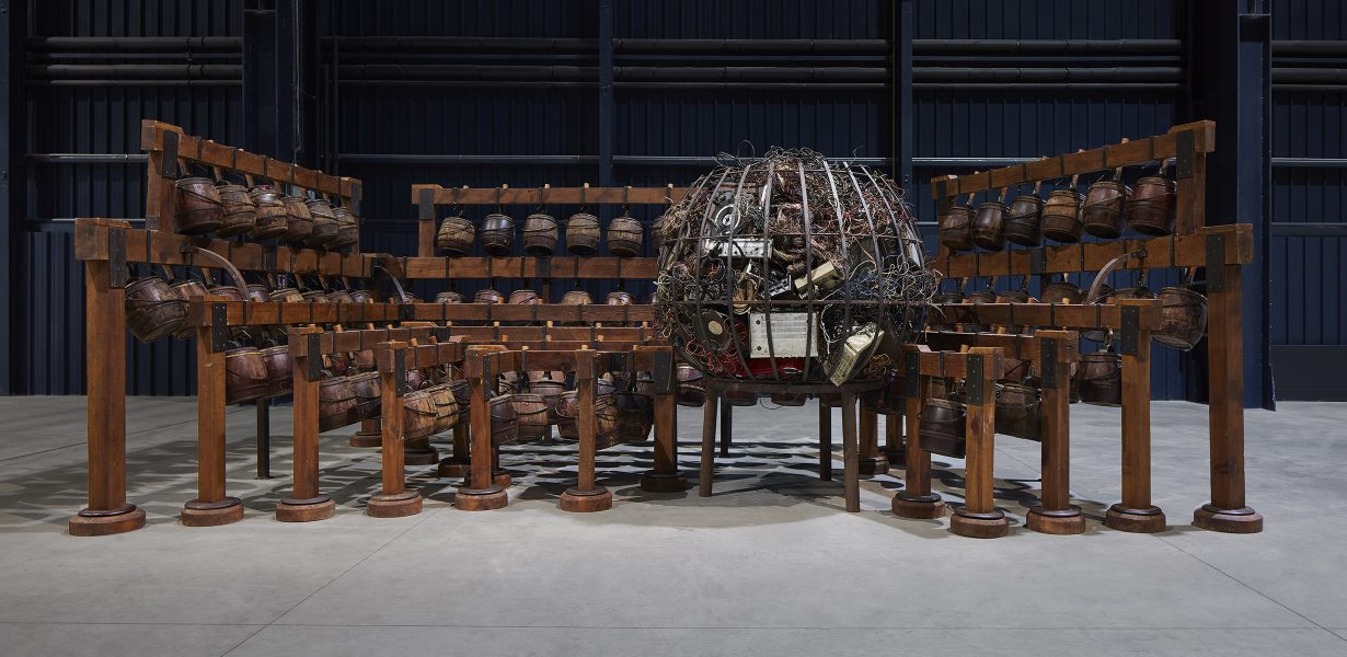 Chen Zhen Converses with Maurizio Cattelan in Art Review