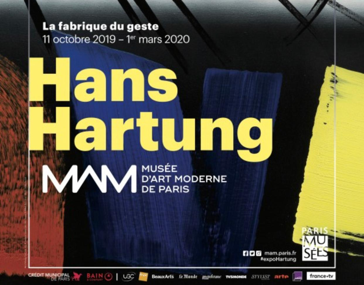 Hans Hartung Retrospective at Musée d'Art Moderne de Paris