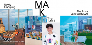 Mak Ying Tung 2 in Artsy Vanguard 2020