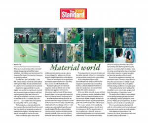 Chen Pin Tao aka AznGothBoy Featured in The Standard
