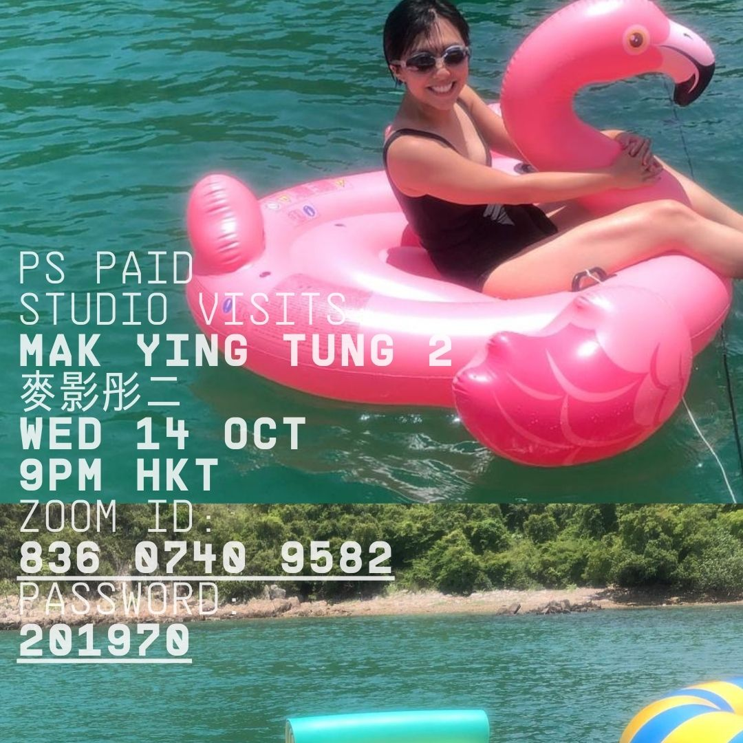 Mak Ying Tung 2 in PS Paid Studio Visits