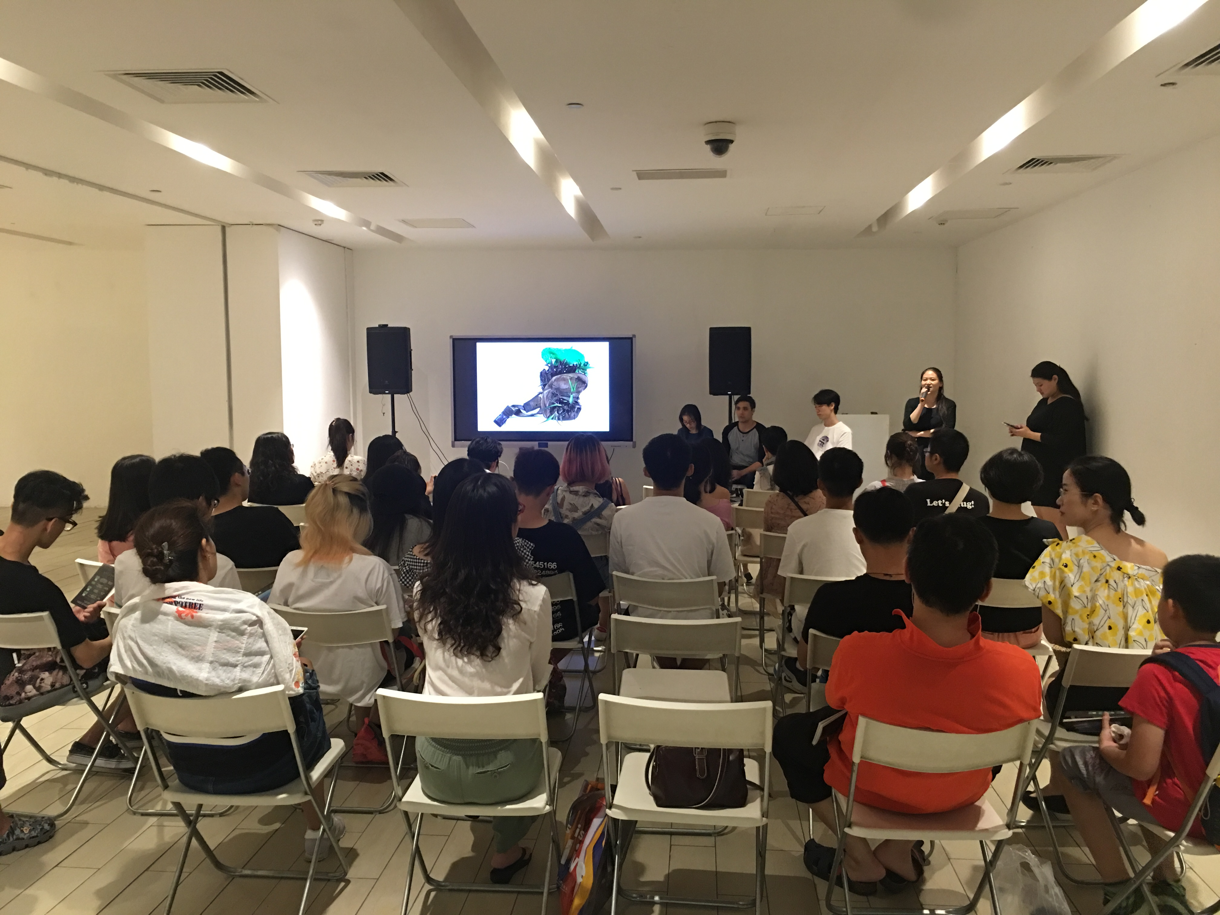Andrew Luk lecture at chi K11 art museum