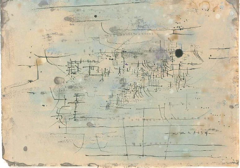 de Sarthe Gallery Opens Zao Wou-Ki Retrospective