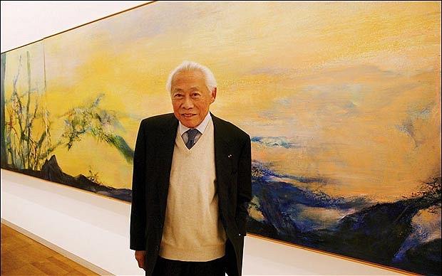 Zao Wou-ki Paintings: 1950s-1960s in de Sarthe Gallery